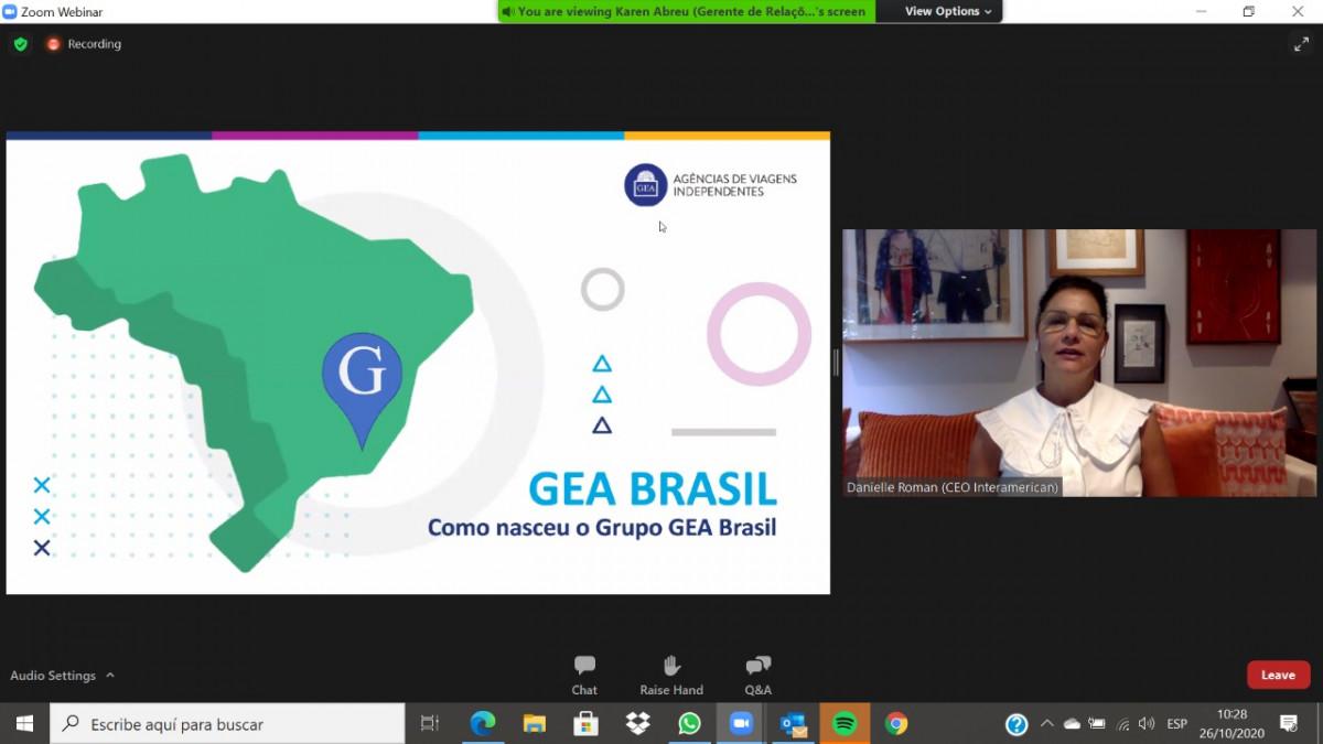 Danielle Roman, CEO de Grupo GEA Brasil