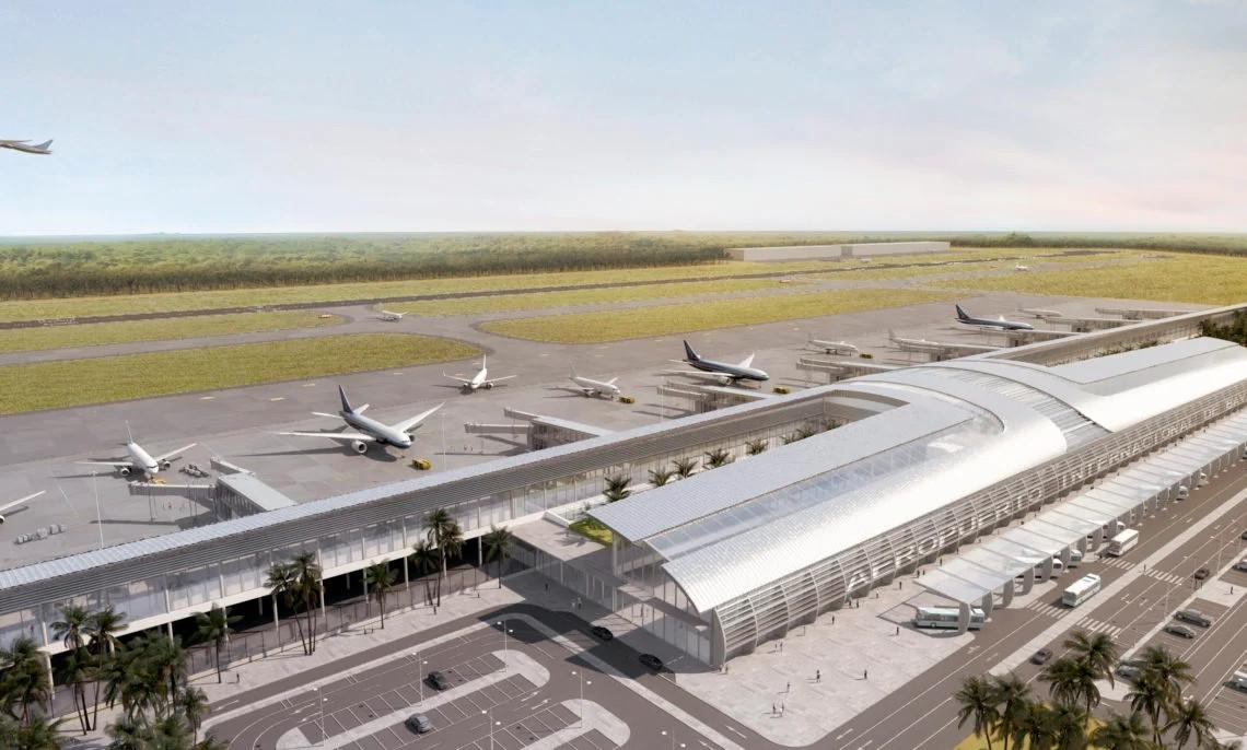 Proyecto del nuevo Aeropuerto Internacional de Bávaro.