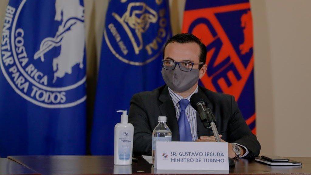 Ministro de Turismo de Costa Rica, Gustavo Segura