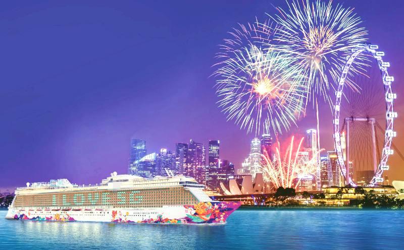 El barco World Dream inicia una nueva modalidad de cruceros desde Singapur.