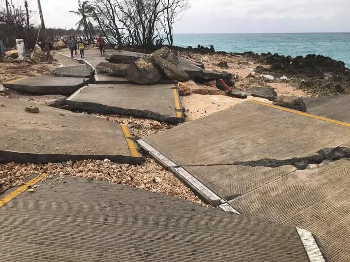 Se evalúan los daños del impacto en la isla de San Andrés
