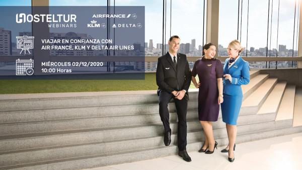 Webinar: Viajar en confianza con Air France, KLM y Delta Air Lines   Intermediación