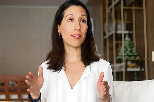 Ministra Claudia Cornejo