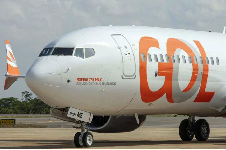 Boeing 737 MAX de la flota de Gol