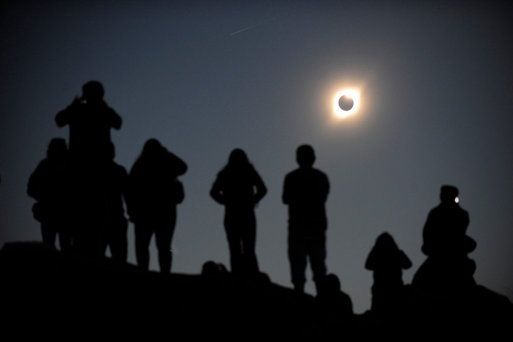 El eclipse hacía albergar esperanzas a oepradores de turismo