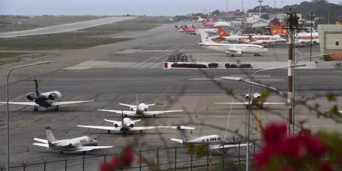 Aeropuerto de Maiquetía, en Venezuela