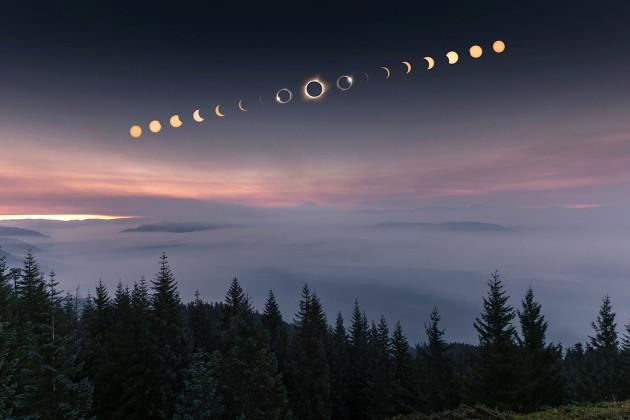Pucón será el epicentro del eclipse total de Sol.