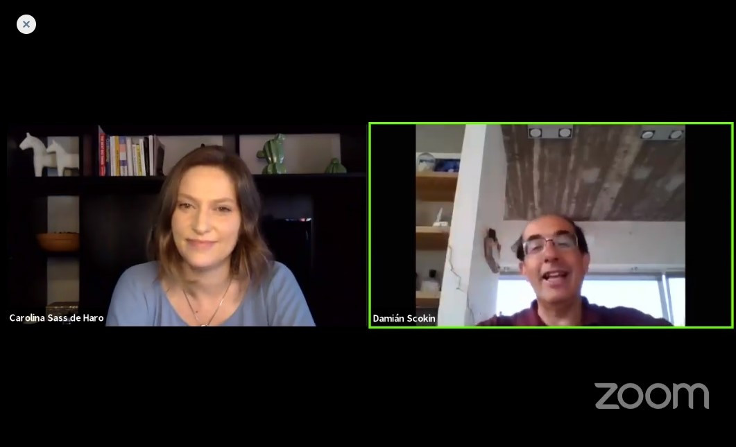Foro Phocuswright: Carolina Sass de Haro entrevista a Damián Scokin