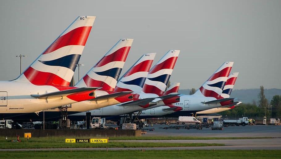 Aviones de British Airways. Foto: Trasponder 1200
