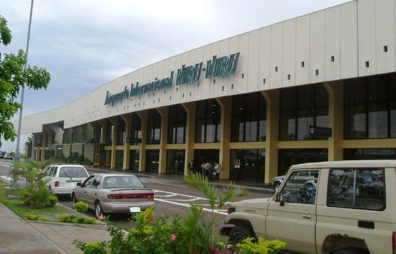 Aeropuerto ViruViru en Santa Cruz de la Sierra.