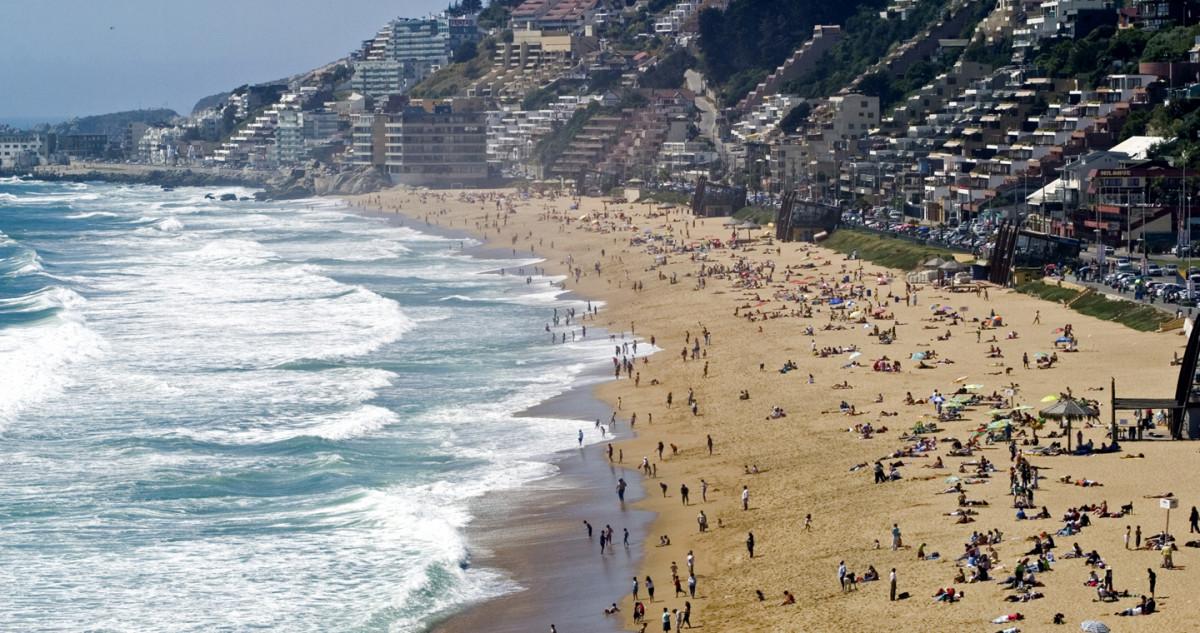 Playa de Reñaca.