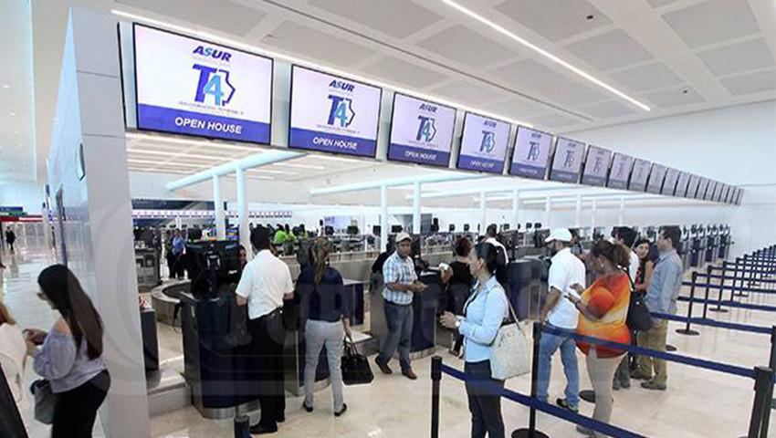 Aeropuerto Internacional de Cancún. Foto: ASUR (archivo)