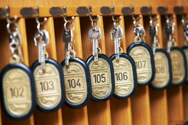 Historia de la llave de hotel