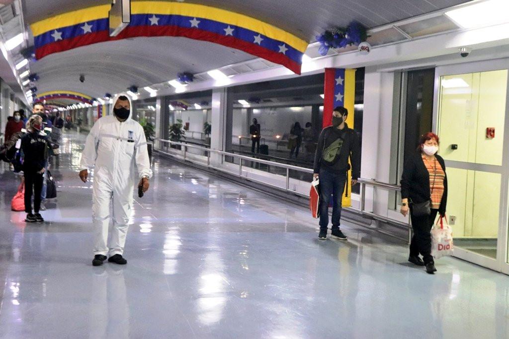 Aeropuerto de Maiquetía, Venezuela.