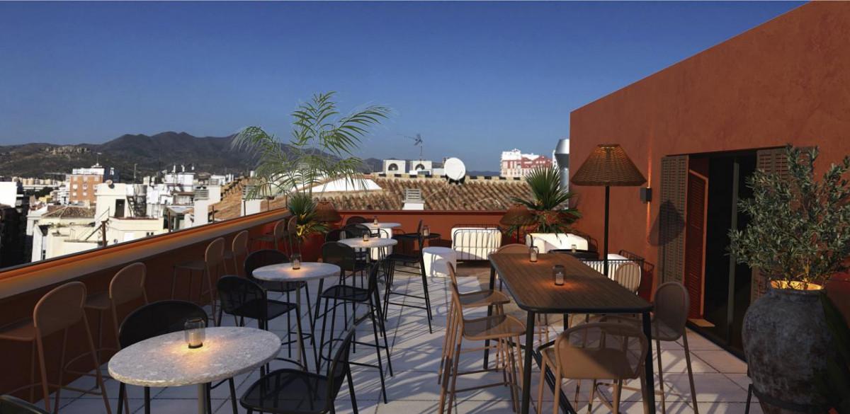Nuevo edificio de apartamentos turísticos en el centro de Málaga 2