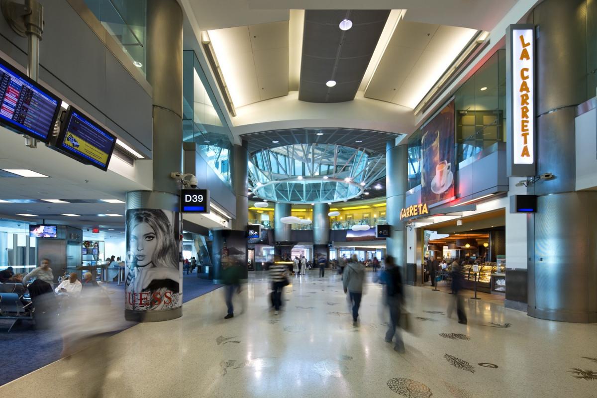 Aeropuerto de Miami.