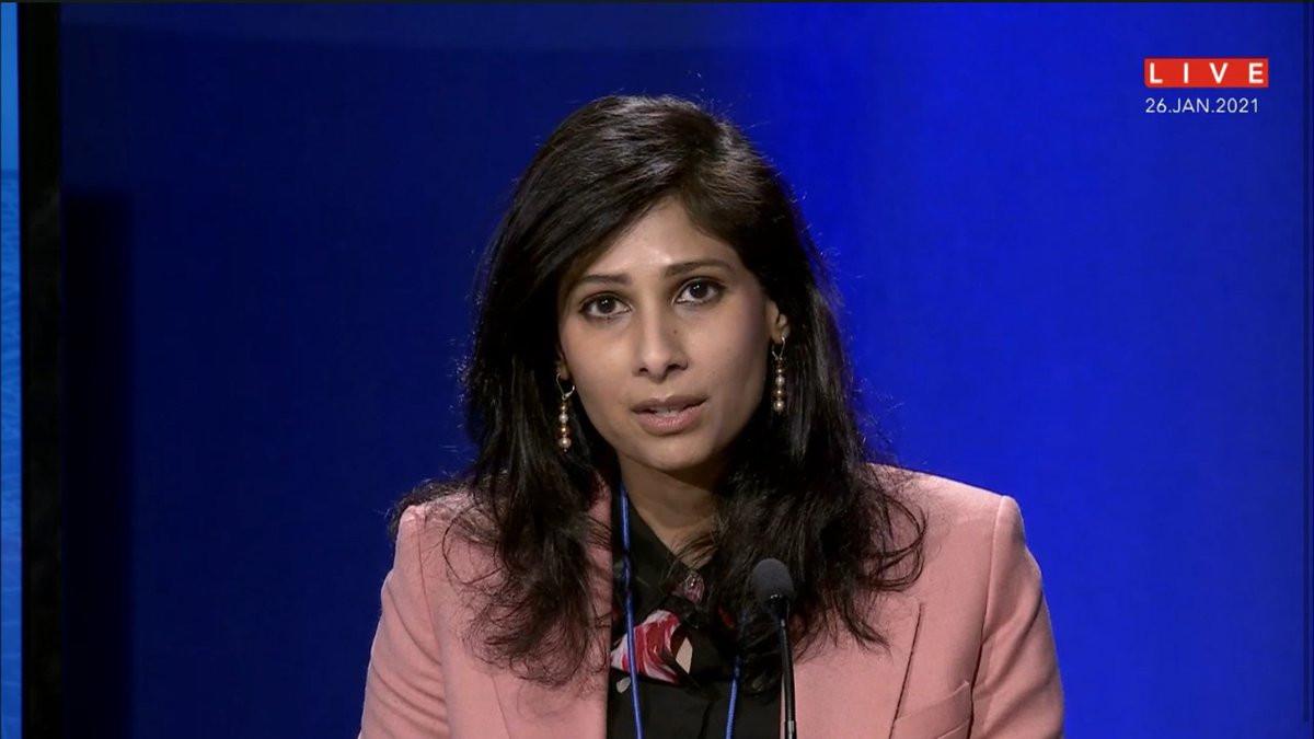 Gita Gopinath, economista jefa del FMI