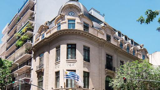 Embajada de Uruguay en Buenos Aires.