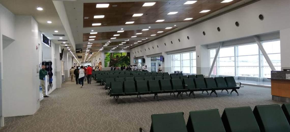 Aeropuerto Oduber, Liberia, Costa Rica.