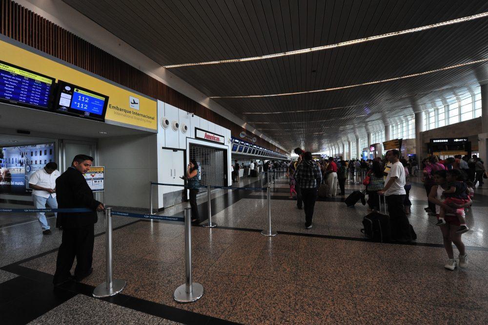 Aeropuerto de Guayaquil.