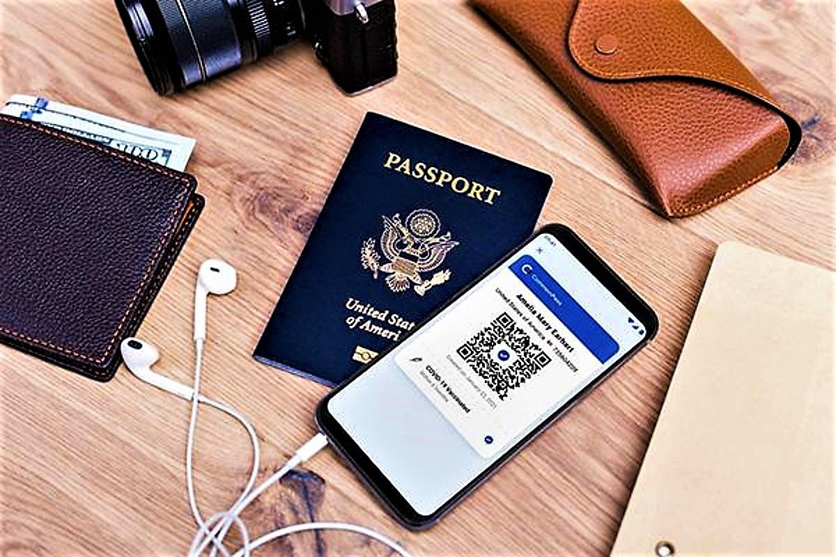 Los pasaportes de salud digitales que está probando la industria aérea    Transportes