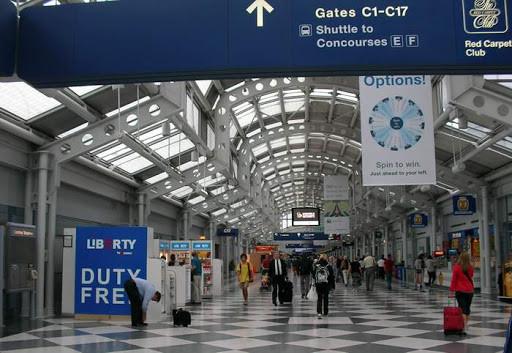 Aeropuerto O'Hare de Chicago.
