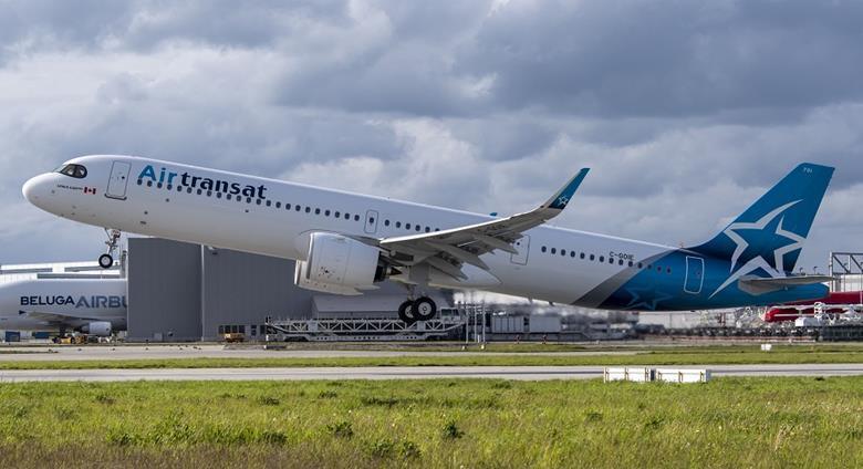 Air Transat. Foto: Airbus