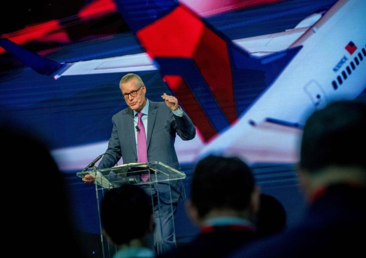 Ed Bastian, CEO de Delta Air Lines.