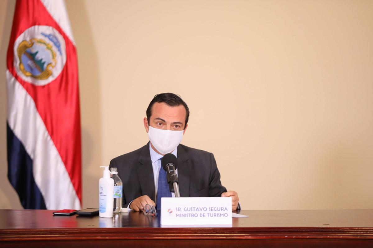 Gustavo Segura, ministro de Turismo de Costa Rica.