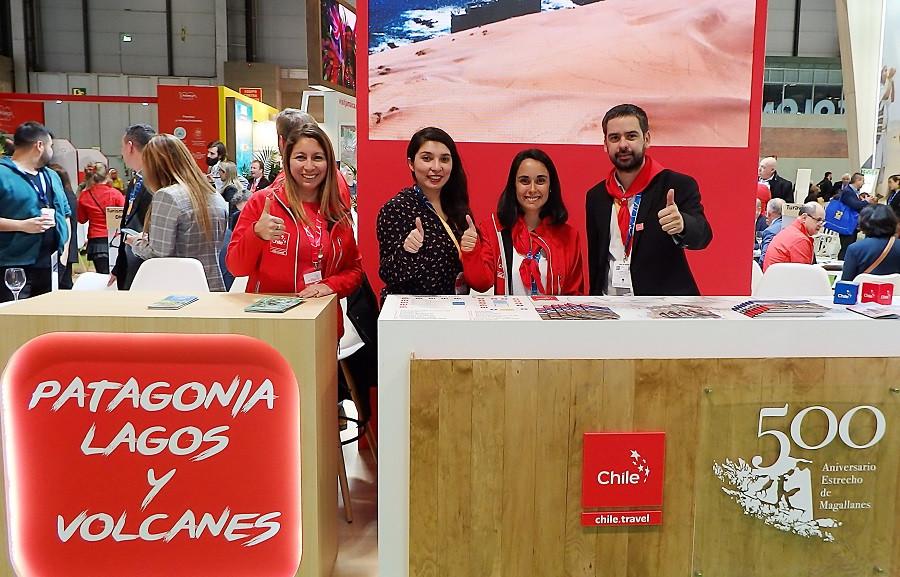 Stand de Chile en FITUR 2020