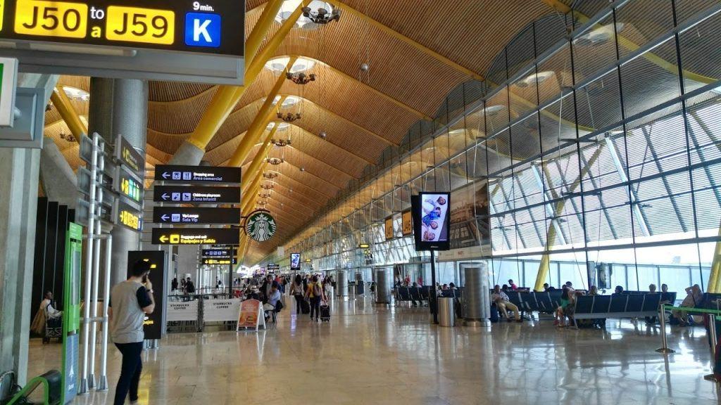 Aeropuerto de Madrid, Barajas.