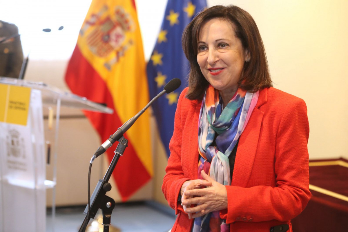 Margarita Robles, ministra de Defensa de España.