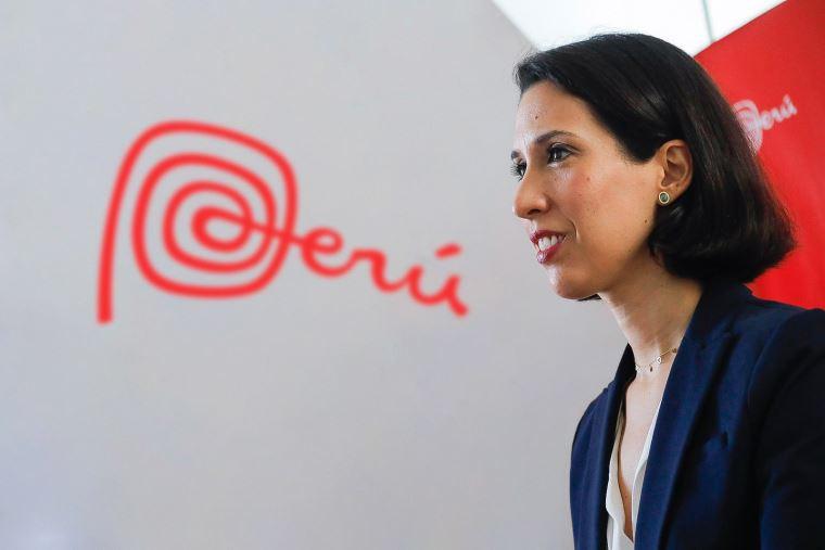 Claudia Cornejo, ministra de Comercio y Turismo de Perú