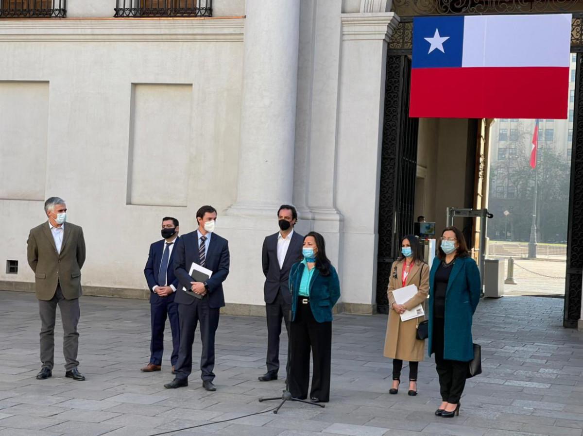 Líderes gremiales del turismo se reunieron con el presidente Sebastián Piñera en La Moneda esta semana.