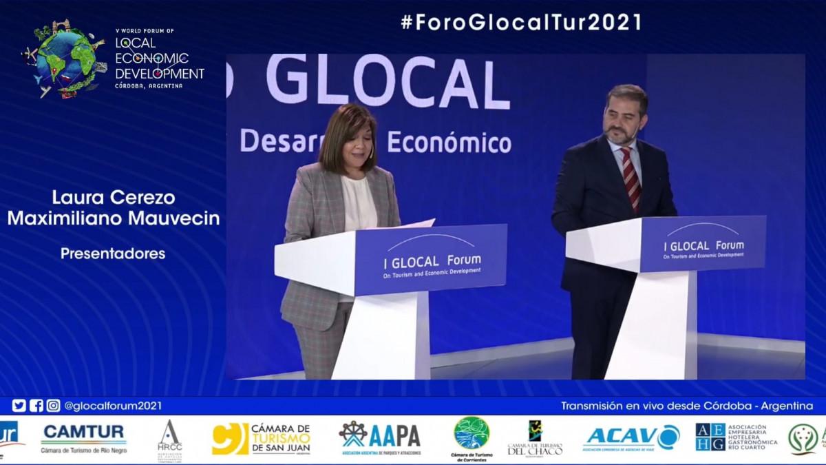 Apertura del Foro GLocal en Córdoba.