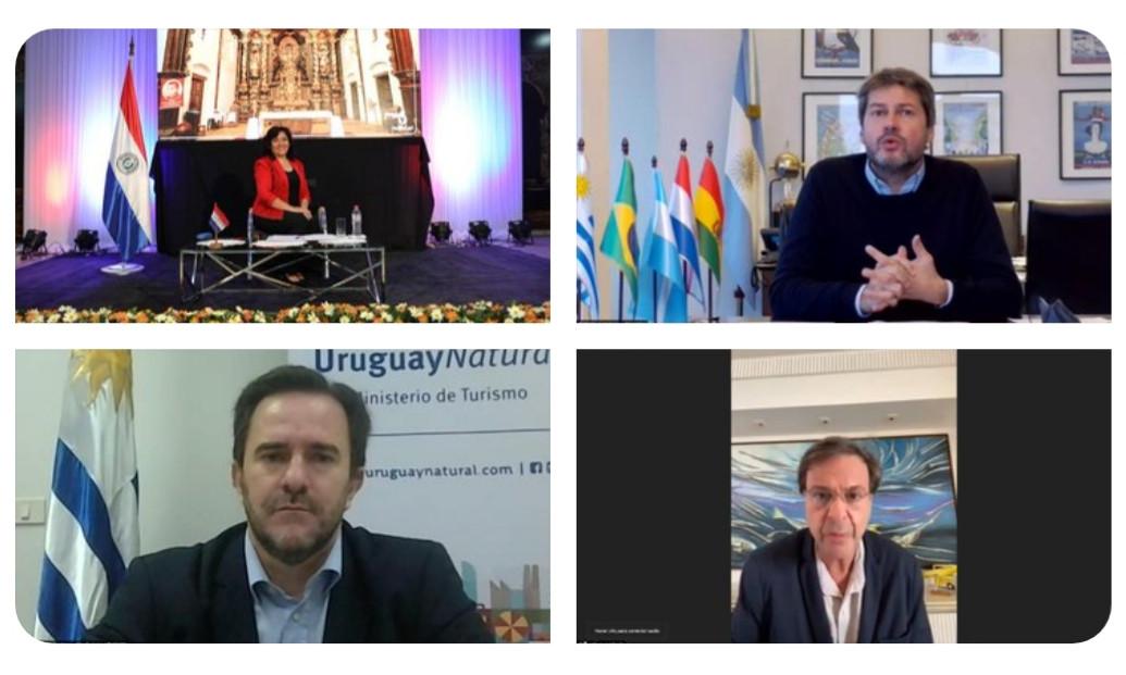 Ministros de Turismo del Mercosur.