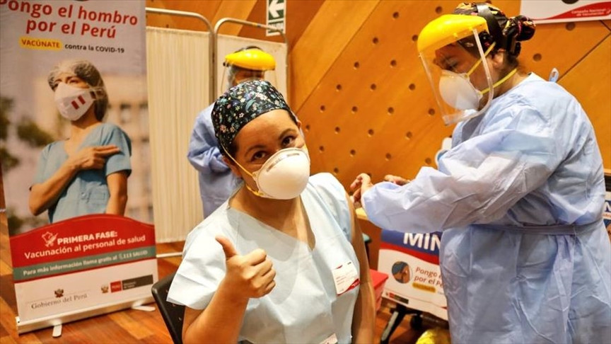 Vacunación contra Covid-19 en Perú. Foto: Ministerio de Salud de Perú