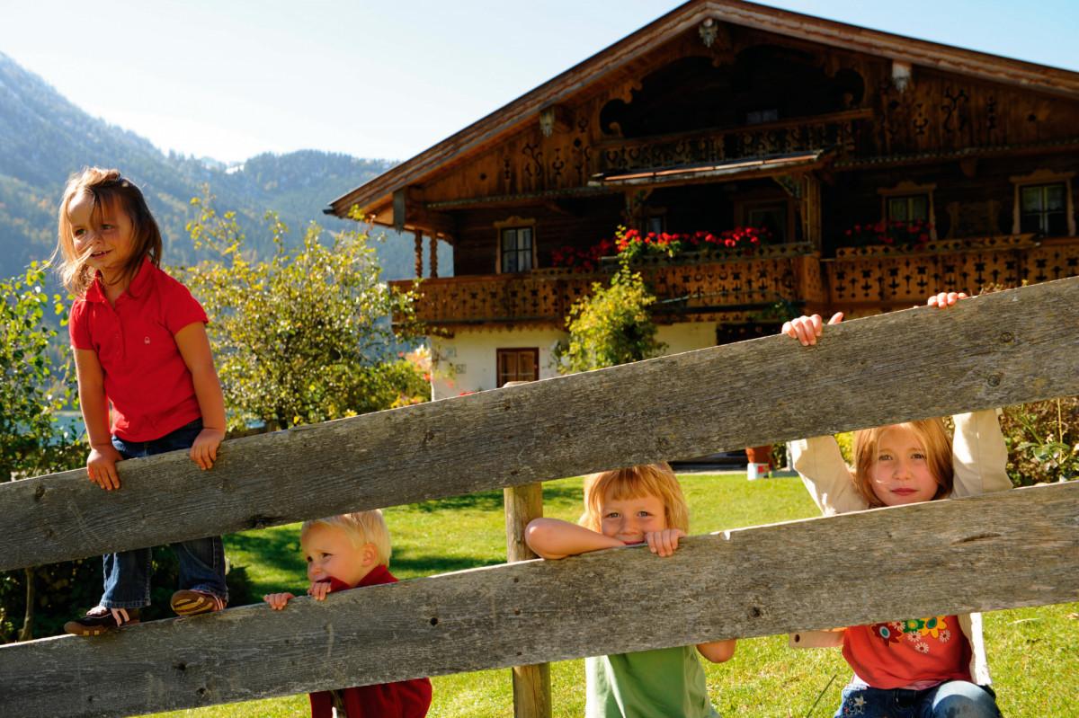Urlaub am Bauernhof in Tirol © Tirol Werbung, Laurin Moser