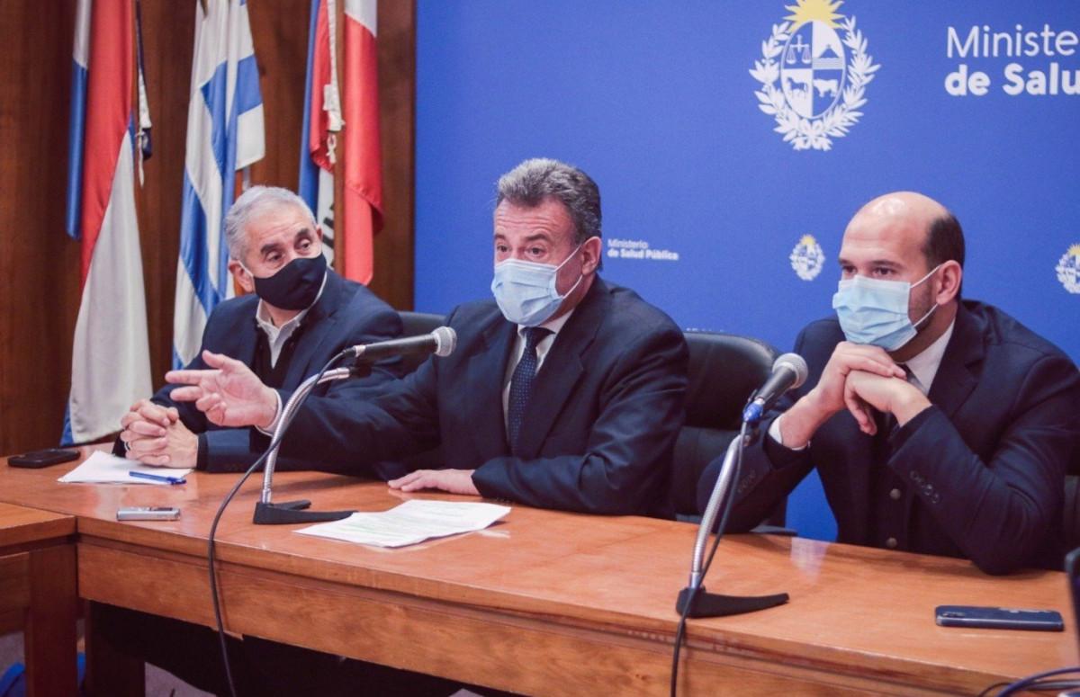 Ministro de Salud Pública, Daniel Salinas.