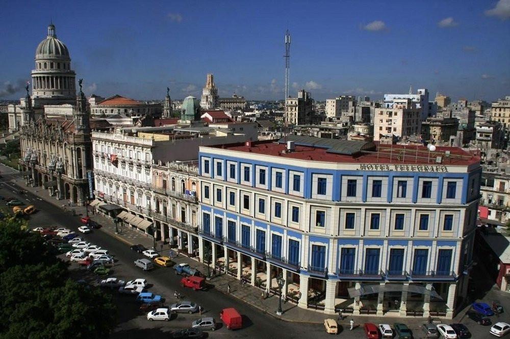 El tradicional hotel Telégrafo fue reconvertido para albergar el primer Axel Hotel de Cuba.