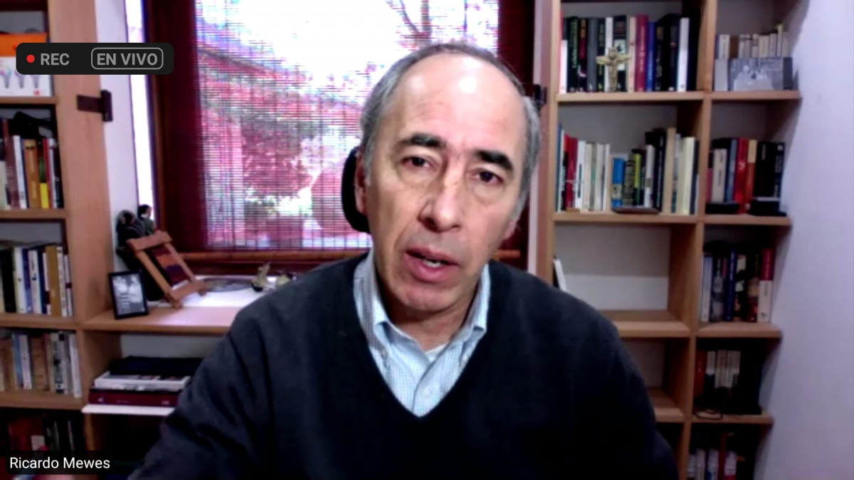 Ricardo Mewes, presidente de la Cámara Nacional de Comercio y Servicios de Chile.