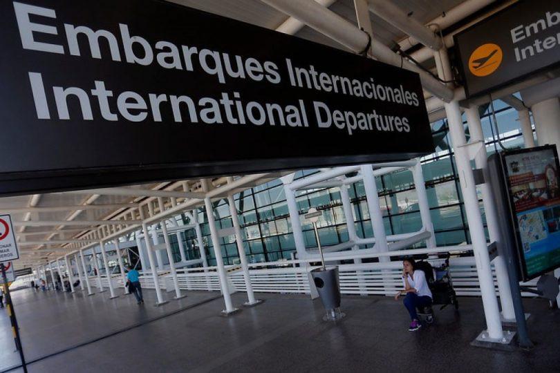 Aeropuerto Internacional de Santiago de Chile.