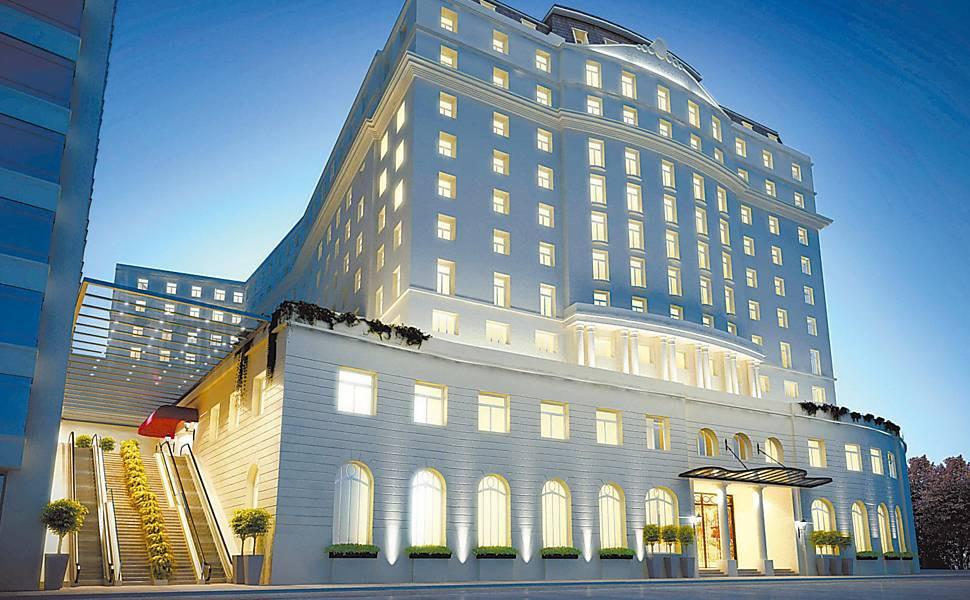 El edificio del hotel Gloria cumplirá 100 años en 2022.