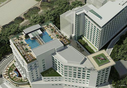 Conversión del hotel Gloria en residencias de lujo.