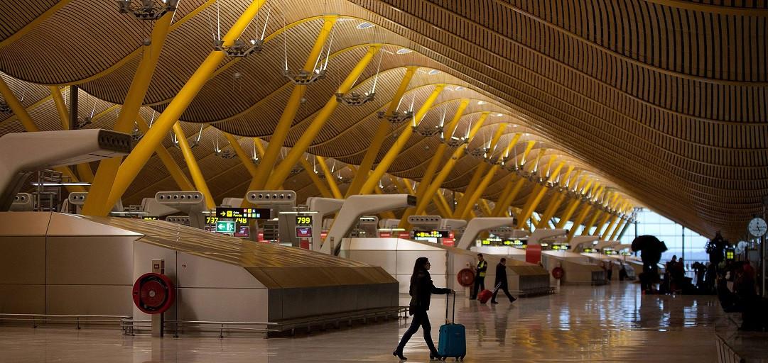 Aeropuerto Internacional de Barajas, Madrid. Foto: Grupo Cobra