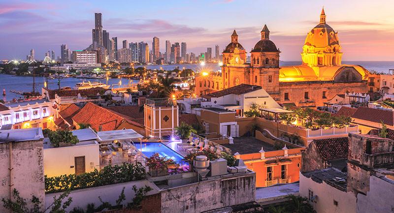 Cartagena de Indias se destaca entre los destinos nacionales de playa.