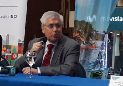 Ministro de Turismo de Uruguay, Tabaré Viera.