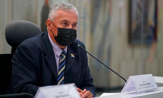 Alí Padrón, ministro de Turismo de Venezuela.