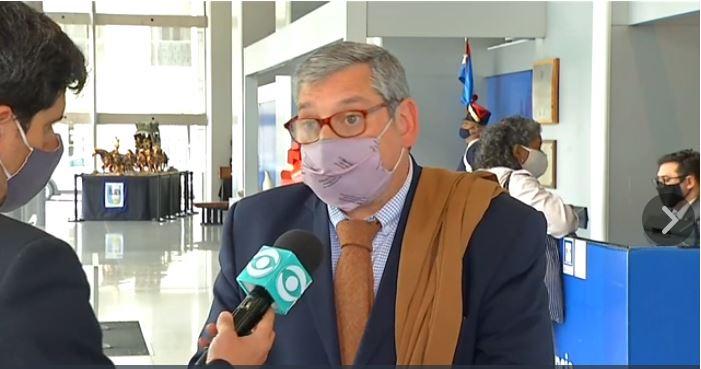 Carlos Enciso, embajador de Uruguay en Argentina.