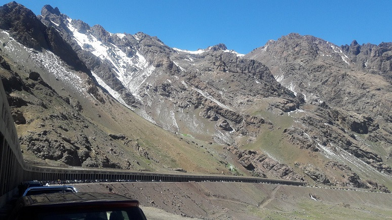 Frontera entre Argentina y Chile. Foto: @VecinoAlertacom